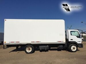 2006 FORD DIESEL 18FT CUBE VAN BOX TRUCK