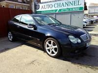 C class 2.1 diesel sport coupe manual. Free warranty. New mot