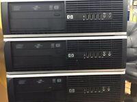 """HP Elite 8100 SFF PC, intel core i5, 8GB RAM,1000GB Hard Drive.17"""" monitor,mouse & keyboard"""