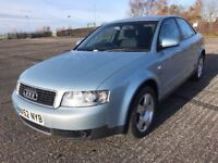 52 REG AUDI A4 1.9 TDI IMMACULATE WITH FSHJUST REDUCED NOW ONLY £ 1499