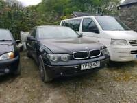 CHEAP BMW 730D LOW MILEAGE (NON RUNNER)