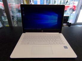 HP 14, Windows 10, White