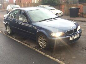 BMW 320D ES 2003 2L Diesel Manual Blue