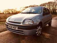 Renault Clio - Low Mileage, Incredibly Reliable, MOT til Oct 2018
