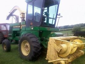 Used John Deere 5460 Self-Propelled Harvester