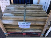 Wooden Posts £3.00 Each (Very Clean) 01895 239 607
