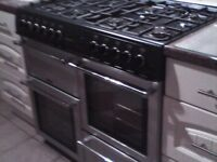 Belling Countrychef Range Cooker and Hood - 8 Burners
