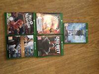 4x Xbox 1 games