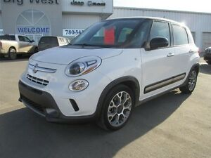 2014 Fiat 500L 4DR TRECKING EDITION 1.4 MULTI AIR TURBO / SUNROO