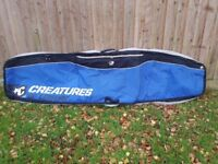 "Creatures of Leisure 7'6"" Wheeled Travel Bag for up to 3 short boards"