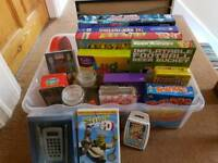 Car boot job lot - toys,books,bits & bobs