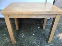 Light oak coffee table/side table FREE DELIVERY PLYMOUTH