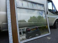 Veka Golden Oak UPVC Window