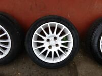 """HONDA CIVIC SPORT 15"""" ALLOYS AND TYRES"""