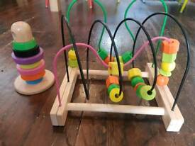 Two nice IKEA wooden toys