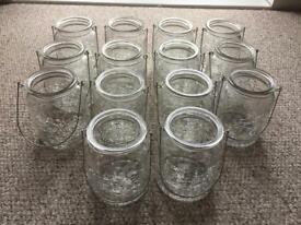 Storm Jars. 14 off. Cracked effect