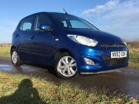 FOR SALE 2013 HYUNDAI I10 ACTIVE 1.2 PETROL 5 SPEED MANUAL. 12 MONTHS MOT ONLY 35,000 MILES