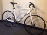 boardman comp entry level hybrid road bike disc brakes lightweight quality bike absolute bargain