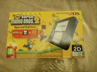 Nintendo 2ds super mario bros 2 console brand new