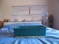bird cage 50w x 30d x 48h cm 2 perches