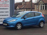2011 Ford Fiesta 1.2 Edge 3 Door Petrol