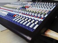 Midas Venice 240 - rare 24 channel mixer, Near mint condition with new flight case