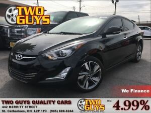 2014 Hyundai Elantra LIMITED| LEATHER | PANOROOF| 2.0L | ALLOYS