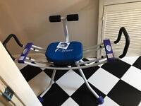 I wave ab fitness machine