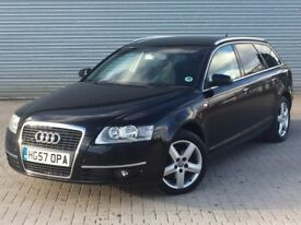 2007 AUDI A6 SE TDI AVANT, 2.0 DIESEL ENGINE, AUTOMATIC, ESTATE, GREAT SPEC INC SAT NAV.