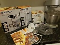 Kenwood Premier Chef Mixer & Accessories & Recipe Book
