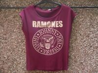 Ladies Ramones t-shirt for sale