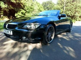 Black BMW 630i,121.000 miles,20 inch BMW alloy wheels,white leather,good condicion,price neg.