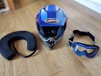 ARASHI Motorcross Helmet. Junior XL size 54