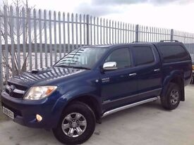 2008 TOYOTA HILUX D/C 3.0 D4-D INVINCIBLE 4X4 MANUAL BLUE ++ IMMACULATE CONDITION!! ++ FSH!! ++