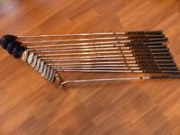 Peter Alliss Airpower Golf Clubs + Bag