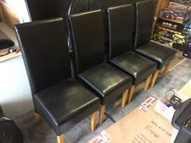 Dining Table Chairs Black