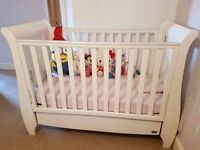 Tutti Bambini Katie Cot Bed with Drawer - Good Clean Condition