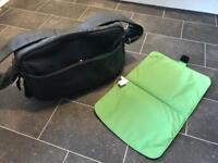 Bugaboo Leather Changing Bag