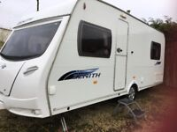Immaculate fixed bed touring caravan 4 berth