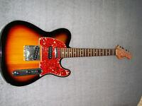 Harmony Telecaster, very unusual and versatile guitar.