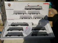 Very collectable train-set commissioned by Porsche