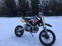 Pitbike demon x 140cc pit bike