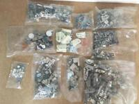 Assorted cupboard fittings