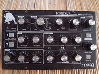 Moog Minitaur - very good condition with warranty