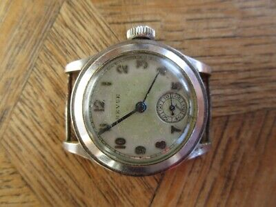 Vintage St. Steel REVUE Manual Watch For Parts. Cal. 56.