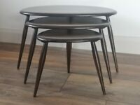 Ercol Pebbles nest of tables