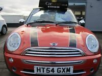 MINI CONVERTIBLE 1.6 One 2dr (orange) 2005