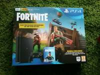 Brand New and never used PS4 500gb with Fortnite.