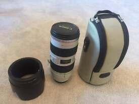 Mint Canon EF70-200mm f2.8L IS USM lens (mk I)