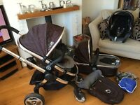 Icandy peach travel system with maxi cosi car seat